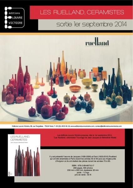 Dossier de presse : Les Ruelland, céramistes